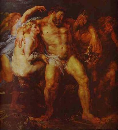 Rubens - Hercules Drunk, 1611