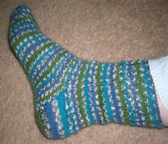 Ocean Medley sock #1