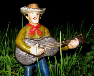 Cast-iron cowboy