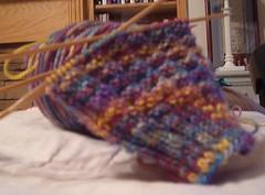 Fluted Banister Sock