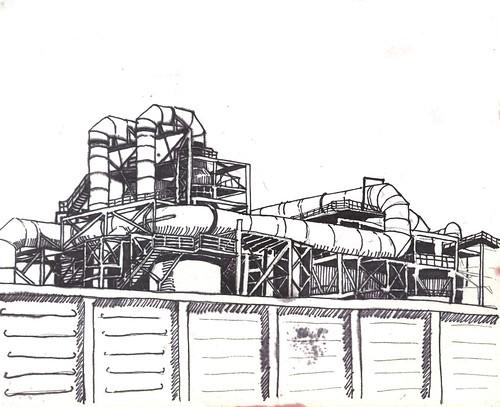 Noranda recovery plant