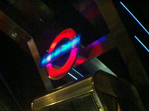 Vauxhall Terminal: London Transport Logo in Mixed Phase