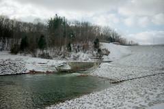 primary spillway at Lake Monroe