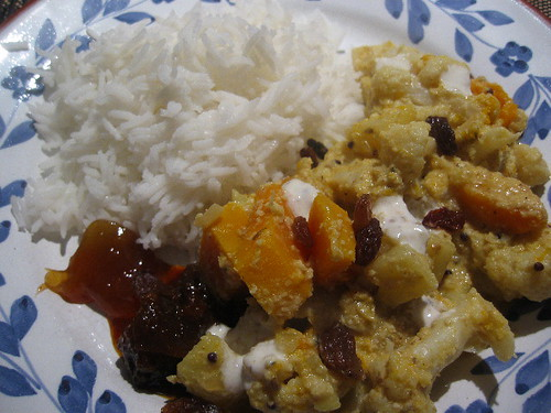 Satyamma's Famous Cauliflower Curry