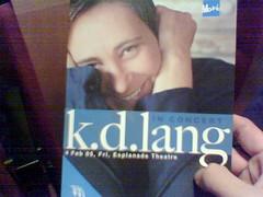I love you, k.d.!