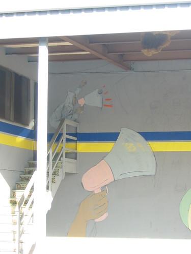 kelley tire graffiti 2