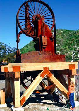 Steam Saw Sculpture