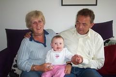 Pake Beppe en Caithlyn - July 2004
