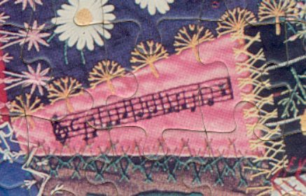 Jigsaw quilt music