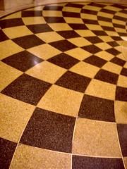 Philadelphia Museum of Art dizzying floor