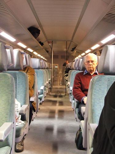 Im Zug (oben)