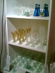 More wine bottle glasses