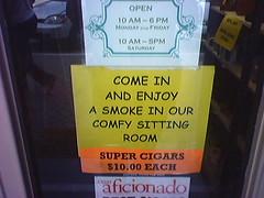 Cigars Ten Dollars