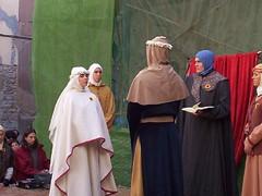 Casamiento judío catalán, ceremonia
