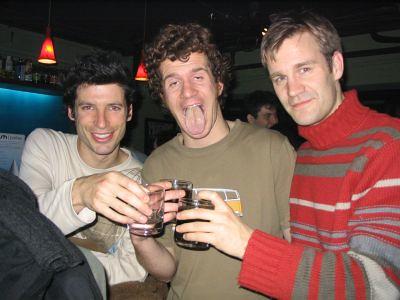 3 guys Lush open jam