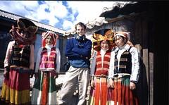 Me with Yi women in Yongning | by mutikonka1