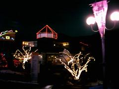 restaurant/bar by night