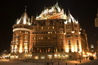 Chateau Frontenac at Night   by Martin Cathrae