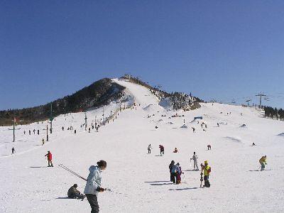 Lian Hua Shan ski-resort