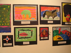 Art work from many schools