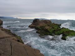 The coast south of Garopaba