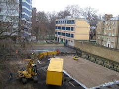 Portacabin on the move