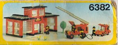 Legoland 6382 Fire Station