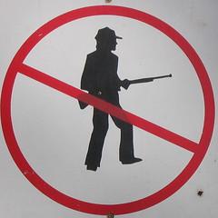 No hunting   by mutantlog