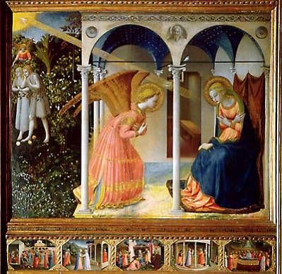 Anunciació de Fra Angelico