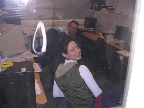 Bureau : Greg et moi