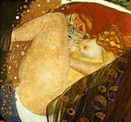 Danae, de Klimt