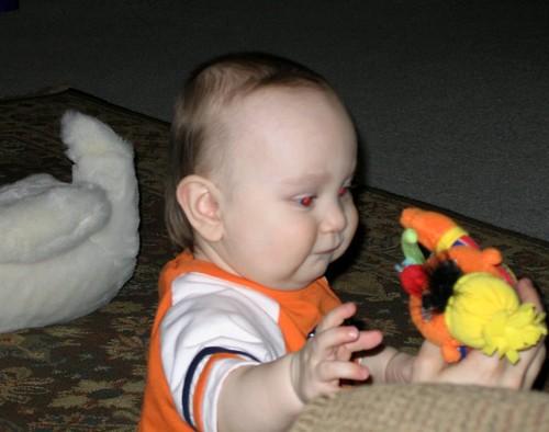 Evil Toby Attacks Ernie