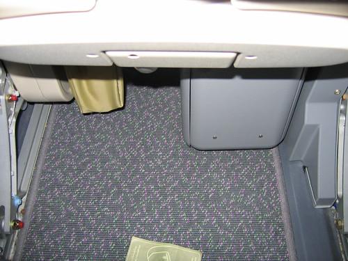 Emirates Economy Seat Storage | by mamamusings
