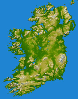 Ireland as seen by NASA Earth Observatory | by Bernie Goldbach