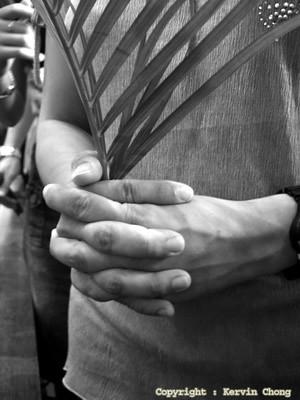 Pray-palm