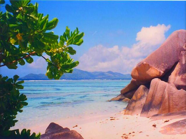 Vacation memories: I Love La Digue, Seychelles Islands