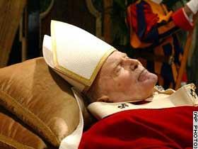 El cuerpo del Papa