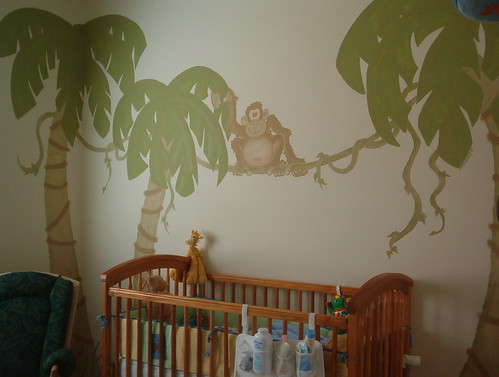 Jungle Themed Nursery | by S'mee