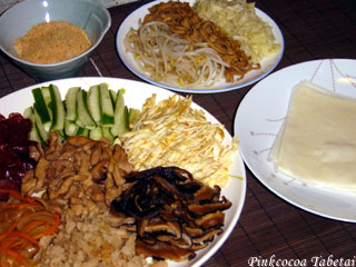 Taiwanese Popiah Dinner