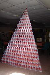 cup pyramid
