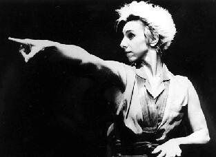 Denise Stoklos em Mary Stuart - 1987