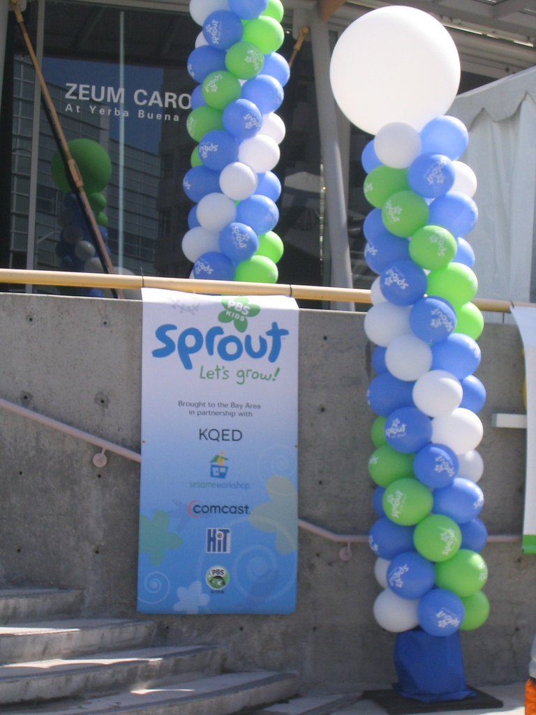 Sprout launch   Sprout, the new kids channel from Comcast, P