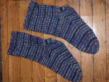 Magic Strip Socks