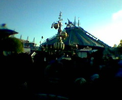 Space mountain 2 is about to open