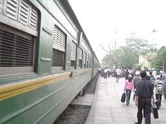 Pasajeros al tren