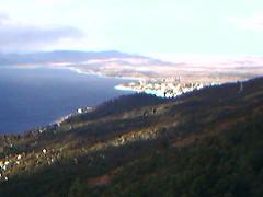 Subiendo al cerro Otto.