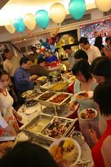 the sumptous buffet