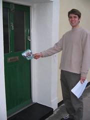Canfasio dros ST yn Ward Rheidol, Aberystwyth