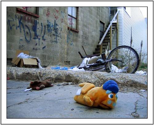 Stuffed animal abuse