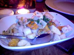 Golden roasted veges